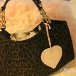 L'Aura bag: leopard and glitter