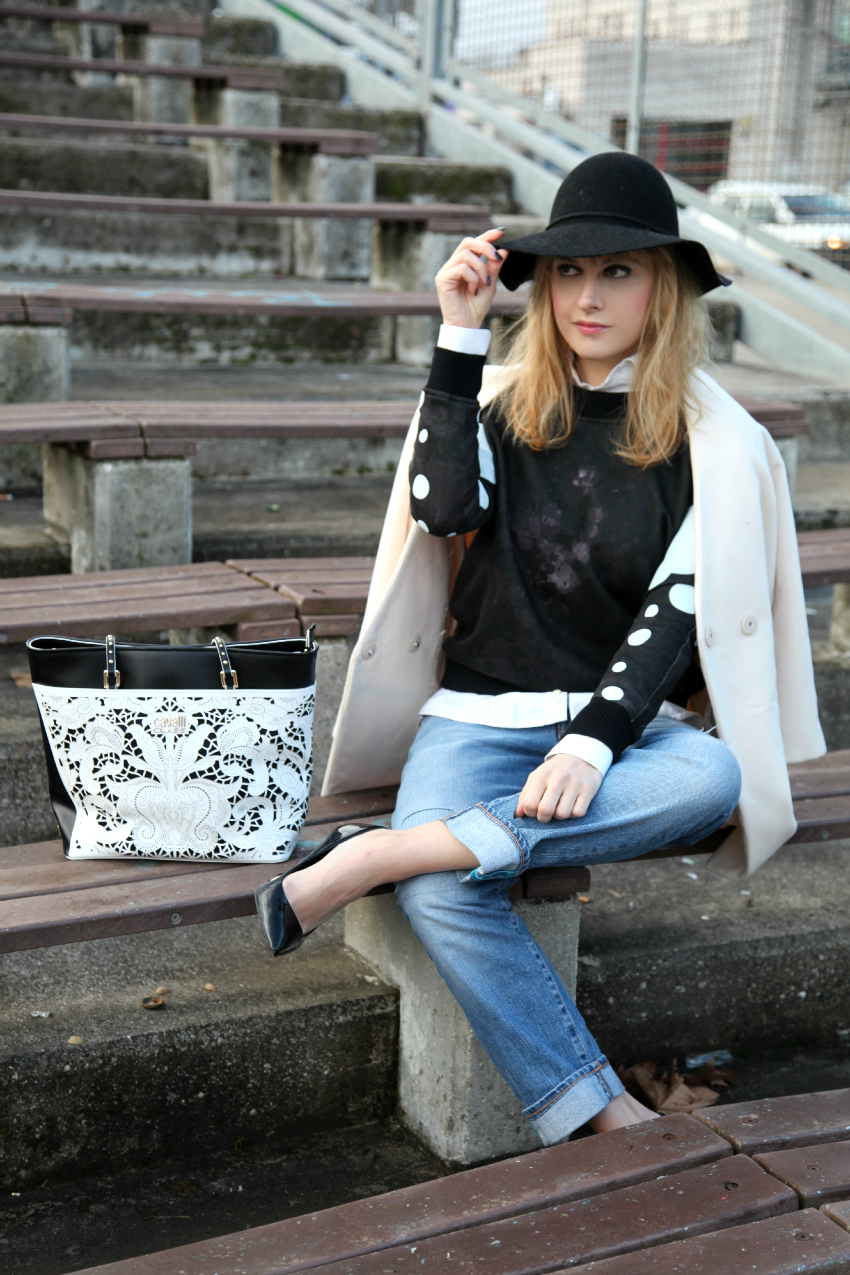 bianco inverno ed un cappello thechilicool fashion blog