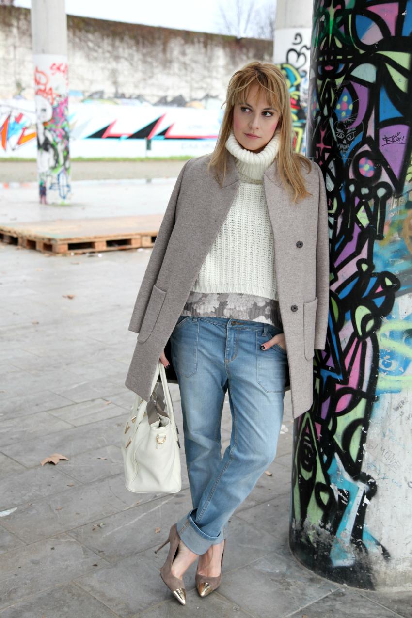 Come quando - del grigio e di altre storie, alessia milanese, thechilicool, fashion blog, fashion blogger, v73 borse