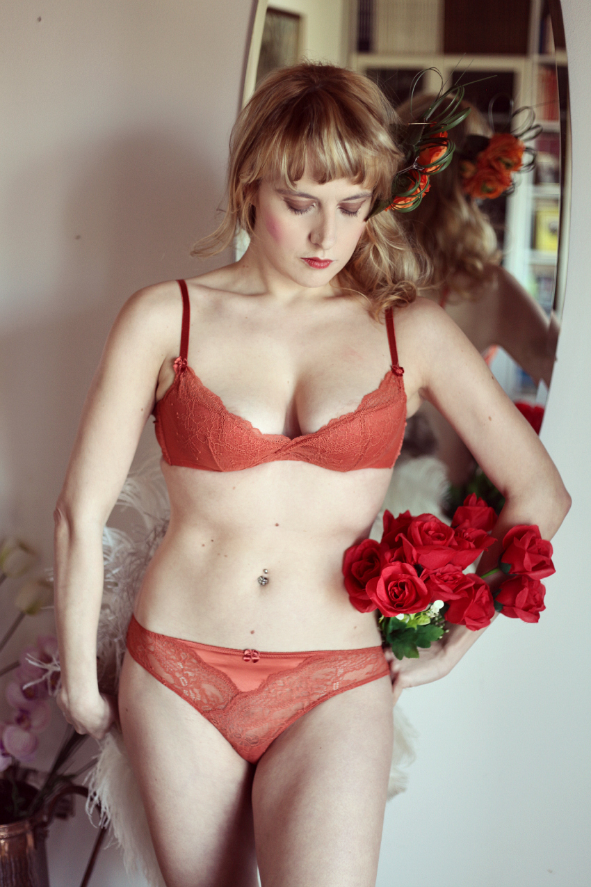 Intimate dream - Sfumature color ruggine, alessia milanese, thechilicool, fashion blog, fashion blogger, my planet intimo