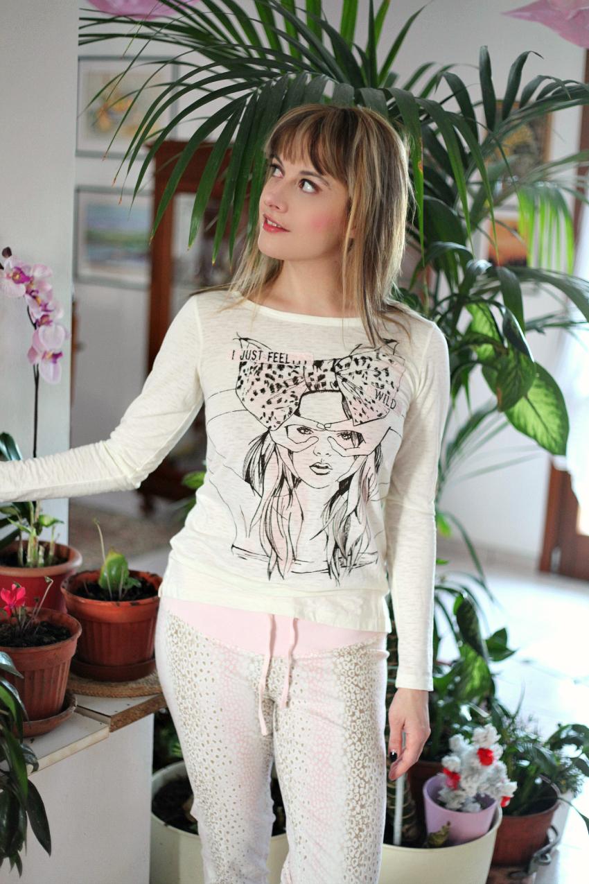 Vento di tramontana, un pigiama e la ricerca della felicità, alessia milanese, thechilicool, fashion blog, fashion blogger , myplanet intimo lingerie