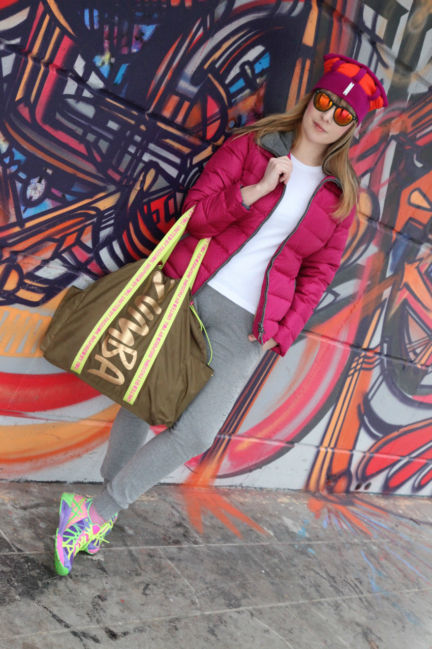 Sporty in pink & grey, alessia milanese, thechilicool, fashion blog, fashion blogger, waterville abbigliamento outdoor