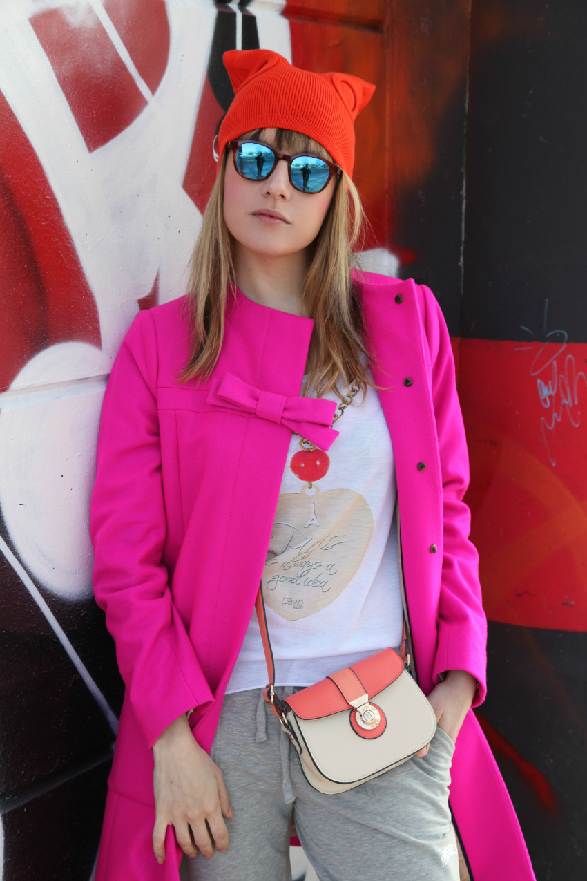Colorama, alessia milanese, thechilicool, fashion blog, fashion blogger, nike airmax lunar, russell athletic