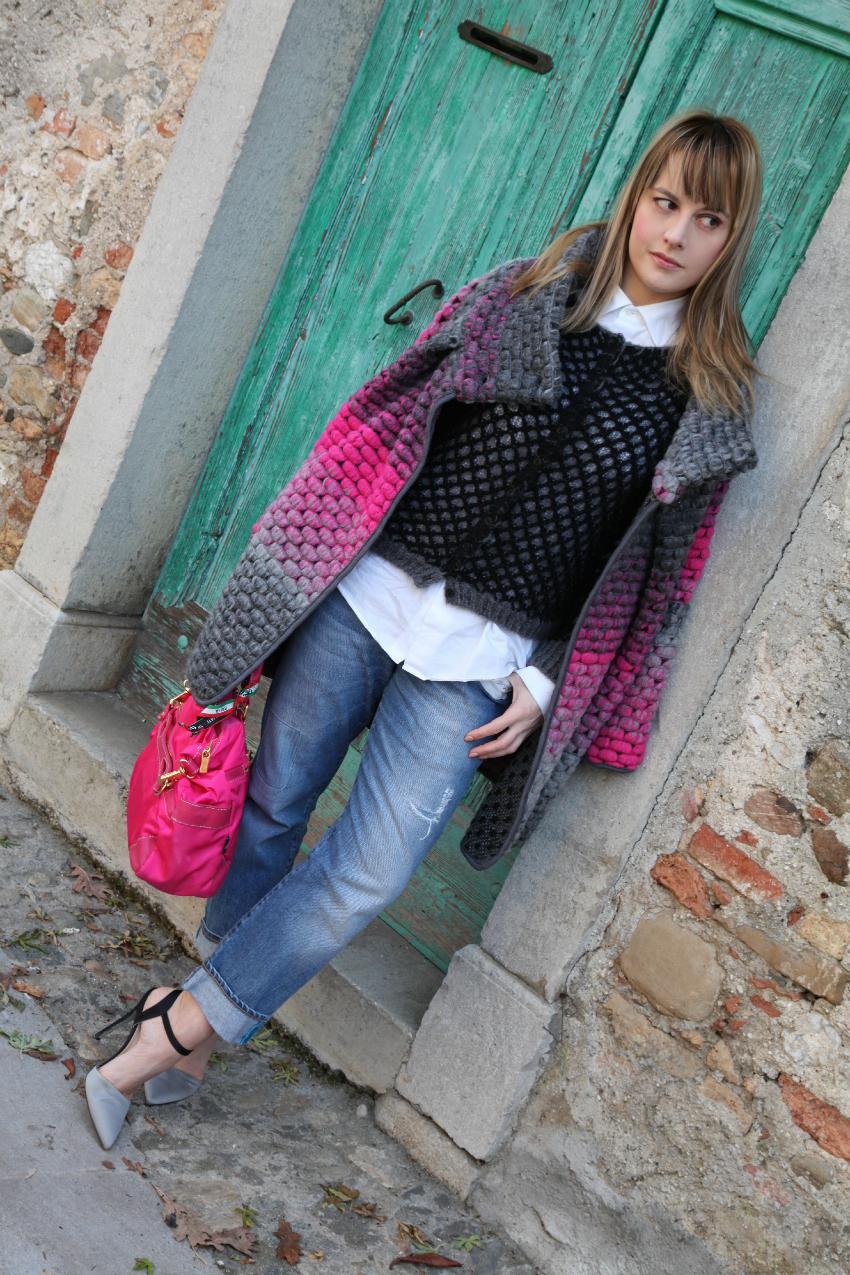 Italia E Rosa Blog Cappotto Thechilicool Fashion Un Neve Grigio La fagwqvgn