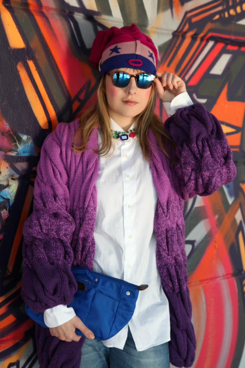 wonder purple, alessia milanese, thechilicool, fashion blog, fashion blogger, wonderwool