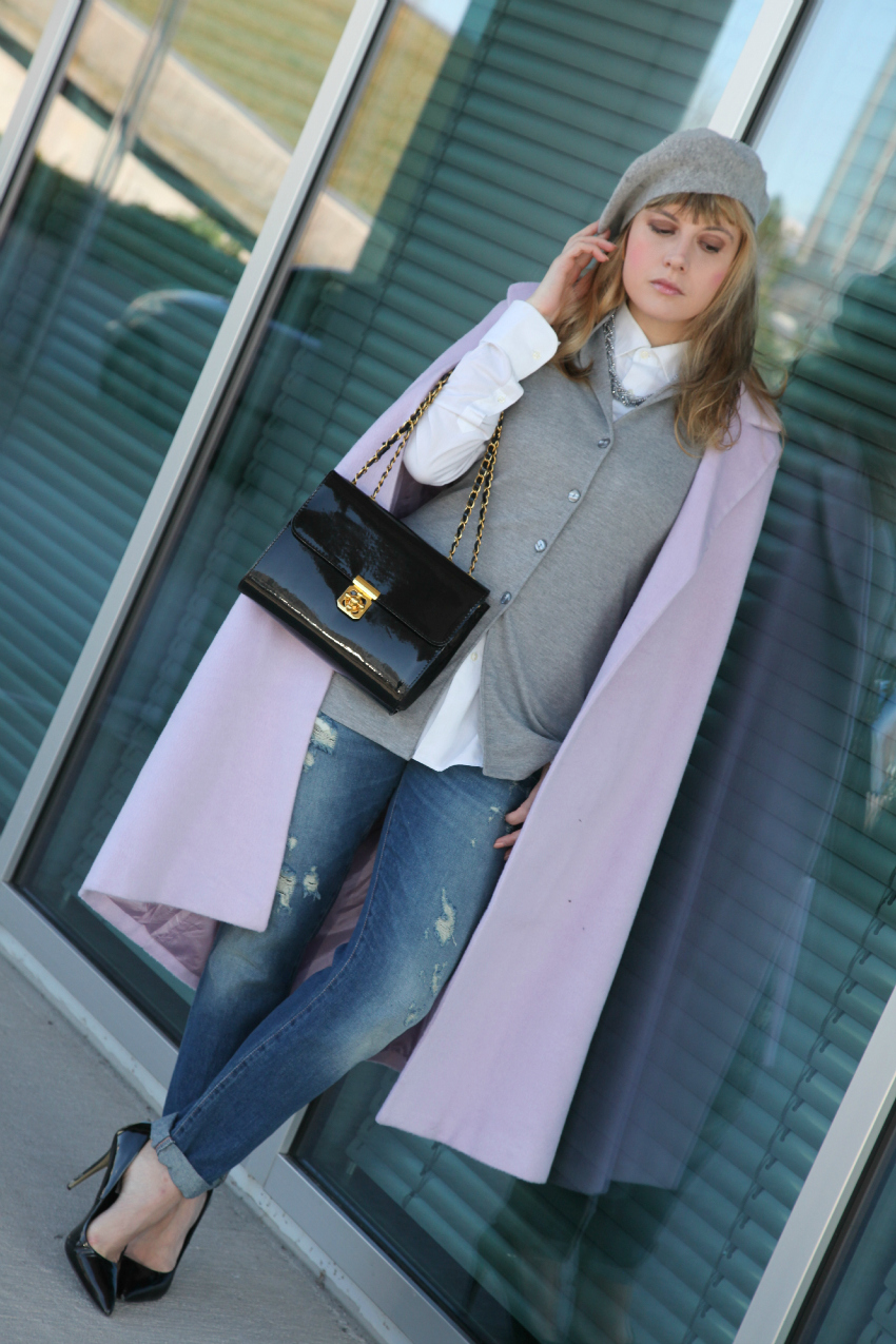 Pink Monday, alessia milanese, thechilicool, fashion blog, fashion blogger, nara camicie gilet