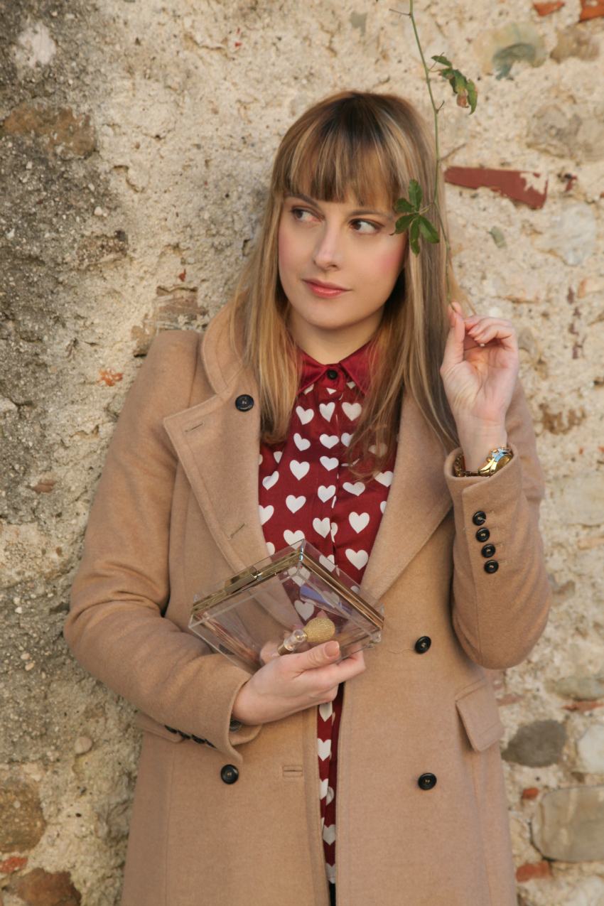 Marsala, burgundy & camel, alessia milanese, thechilicool, fashion blog, fashion blogger, camel coat