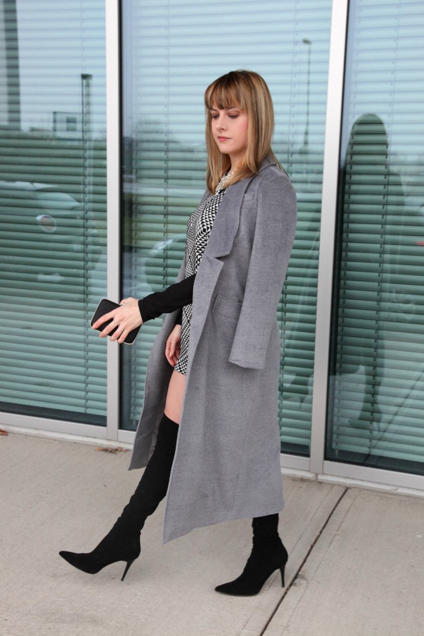 Optical shades & grey, alessia milanese, thechilicool, fashion blog, fashion blogger, risskio
