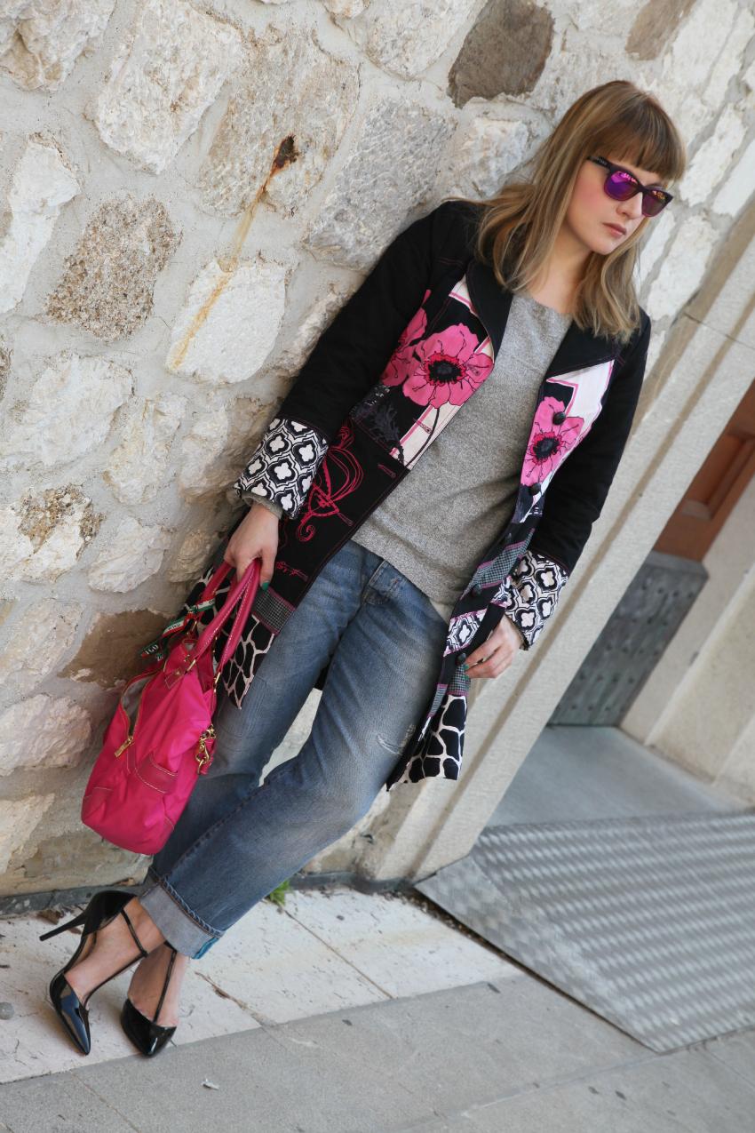 Notti, giorni e piccoli fiori rosa, alessia milanese, thechilicool, fashion blog, fashion blogger, showroomprive , hunter glasses