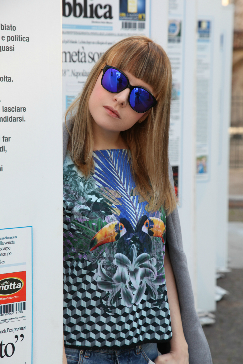 Blue touch, alessia milanese, thechilicool, fashion blog, fashion blogger, pas de quoi