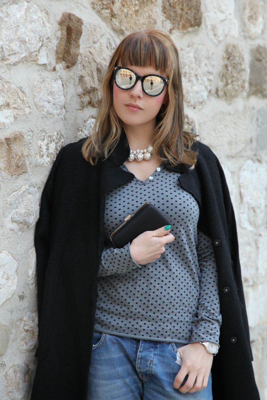 Nero, grigio ed argento. Il cielo sopra di noi., alessia milanese, thechilicool, fashion blog, fashion blogger, x cape