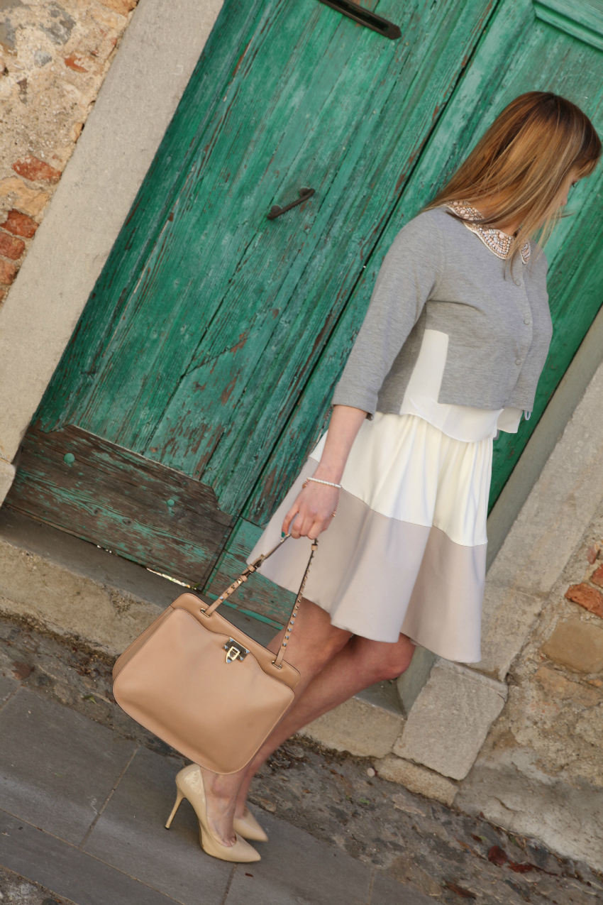 Like a princess, alessia milanese, thechilicool, fashion blog, fashion blogger, princesse metropolitaine , valentino bag