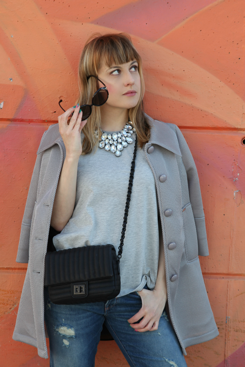 Grey symphony, alessia milanese, thechilicool, fashion blog, fashion blogger, risskio