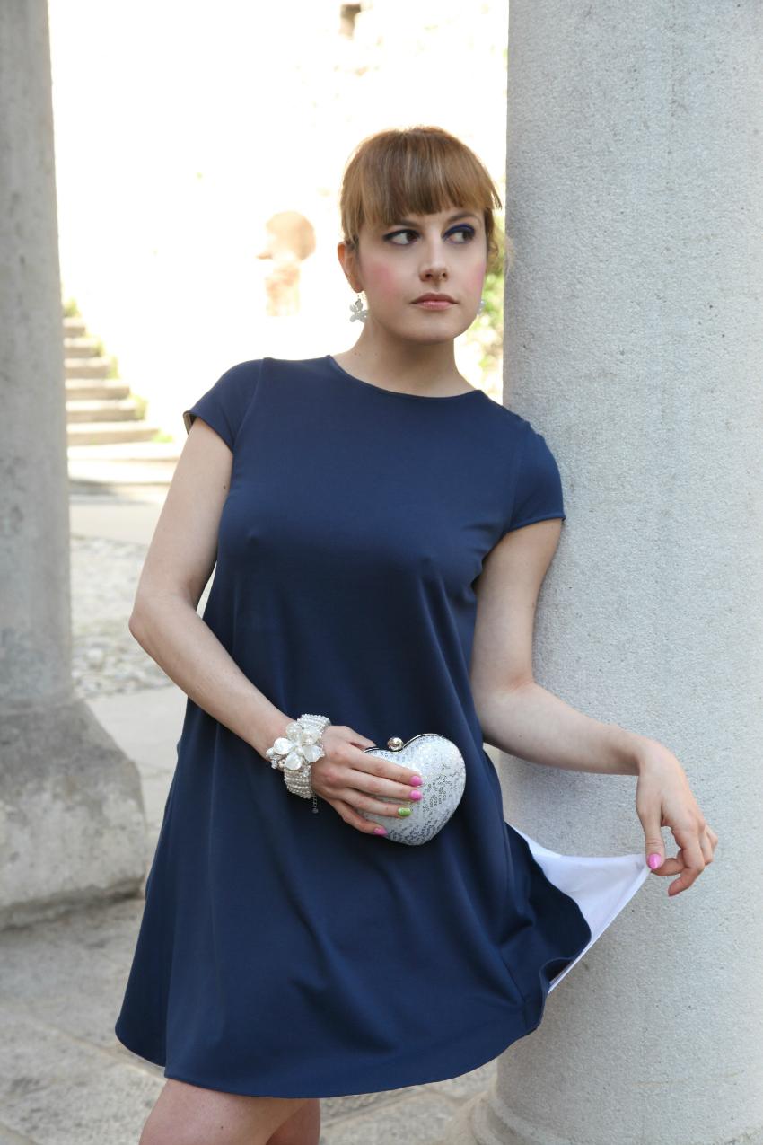 In blue, alessia milanese, thechilicool, fashion blog, fashion blogger, princesse metropolitaine